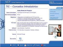 TIC – Conceitos Introdutórios
