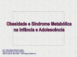 Obesidade - Sociedade Brasileira de Nefrologia