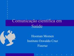 Comunicação científica em Saúde