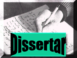 Texto Dissertativo-Argumentativo Objetivo: Explicar ou desenvolver
