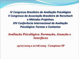 Analise_Fatorial - Instituto Brasileiro de Avaliação Psicológica