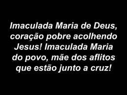 Imaculada Maria de Deus