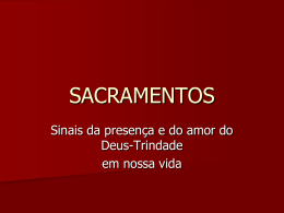 SACRAMENTOS - Região SP Sul 1