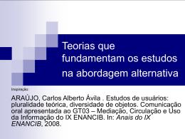 Anais do IX ENANCIB - Bogliolo - Universidade Federal de Minas