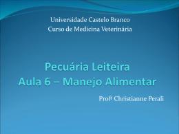 vaca - Universidade Castelo Branco