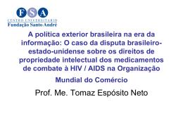 A política exterior brasileira na era da informação