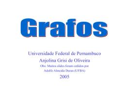 Introdução a Grafos - Centro de Informática da UFPE