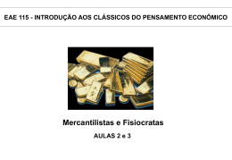 mercantilismo - Erudito FEA-USP