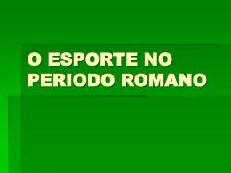 Romanos - Objetivo Sorocaba