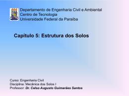 Cap. 5-6 - Centro de Tecnologia - Universidade Federal da Paraíba