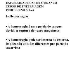 Como aplicar um garrote - Universidade Castelo Branco