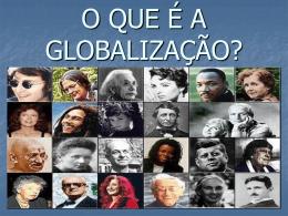 GLOBALIZAÇÃO - Programa Prof2000
