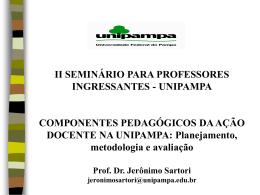 Prof. Jerônimo Sartori