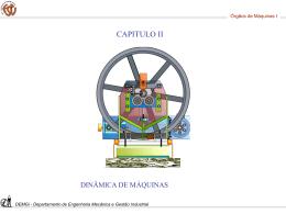 Capítulo 2 - Dinâmica de Máquinas