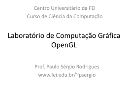 Aula Lab 1 - Centro Universitário FEI