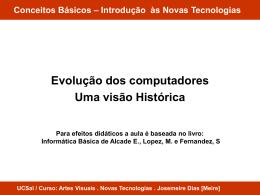Conceitos Básicos – Introdução às Novas Tecnologias