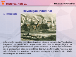 Revolução Industrial 1