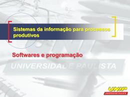 Softwares e programação