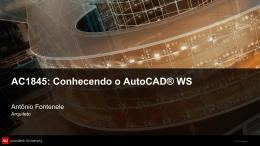 Utilizando o AutoCAD WS em um iPhone/iPad