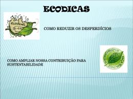 Eco Dicas