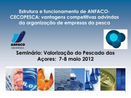 Seminário: Valorização do Pescado dos Açores, 7