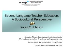 Educação de professores