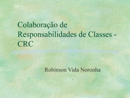 Colaboração de Responsabilidades de Classes