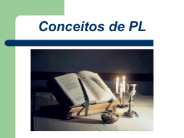 Conceitos de PL SP - Apostolado Leigo Inaciano