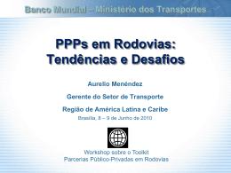 Participação do setor privado no Setor Transporte