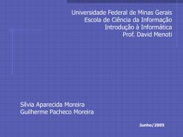 Apresentação - DCC - Universidade Federal de Minas Gerais