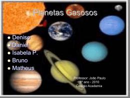 Planetas - Colégio Academia