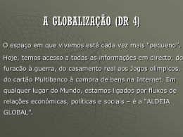 DR4-Globalização