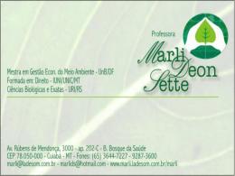 Direito Ambiental - Profª. Marli Deon Sette