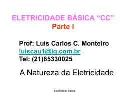 Eletricidade Basica CC - 1ª Etapa parte I