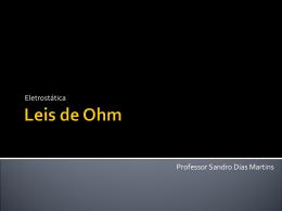 (7) Leis de Ohm