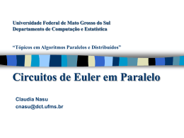Euler Tour no PRAM - Universidade Federal de Mato Grosso do Sul