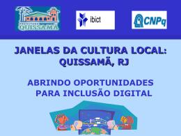 XXII CBBD apresentação Janelas