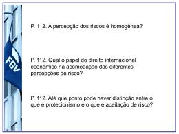 Aula_questoes_risco - Acadêmico de Direito da FGV