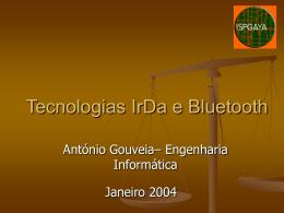 Tecnologias IrDa e Bluetooth