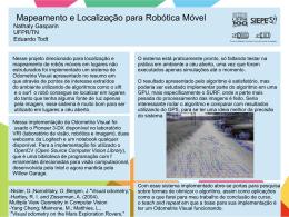 Mapeamento e Localização para Robótica Móvel Nathaly