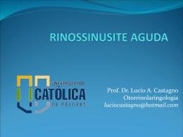 Rinossinusite Aguda