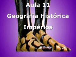 Geografia Histórica – Impérios