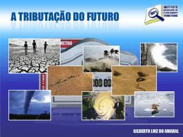 TRIBUTAÇÃO DO FUTURO