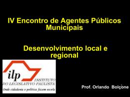 A Saúde Como Estratégia de Desenvolvimento Local: O Caso de