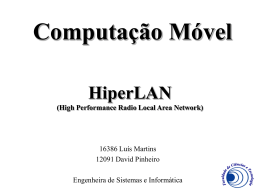 HiperLAN (High Performance Radio Local Area Network)