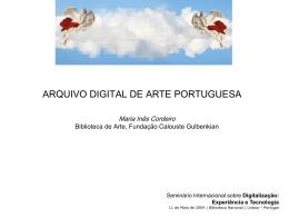 apresentação -2882 Kb - Biblioteca Nacional de Portugal