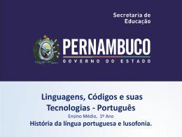 História da língua portuguesa e lusofonia.