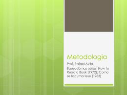 Metodologia - Educaleaks