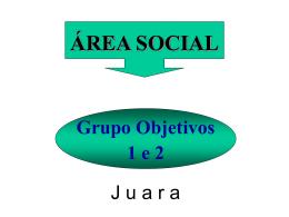 ÁREA SOCIAL - seplan / mt