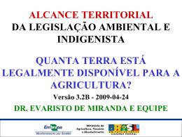 Alcance Territorial da Legislação Ambiental e